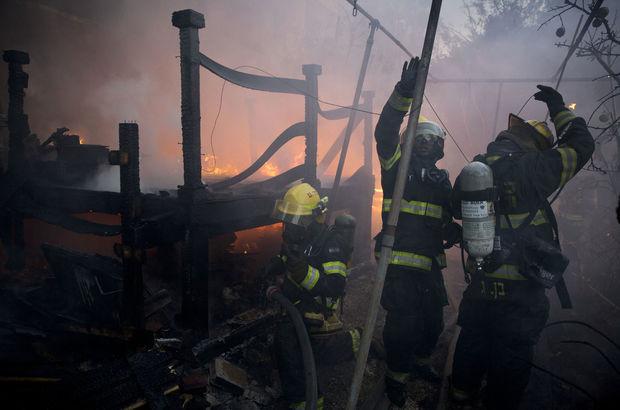 israil yangınlar