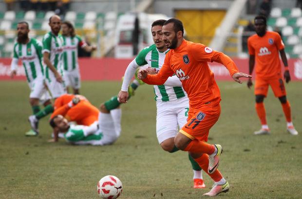 Yeni Amasyaspor: 0 - Medipol Başakşehir: 1