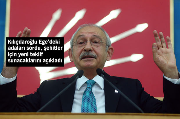Kılıçdaroğlu: 18 adamızda Yunanistan Bayrağı dalgalanıyor