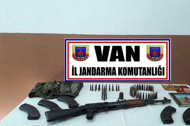 Van'da terör örgütüne ait çok sayıda mühimmat bulundu!
