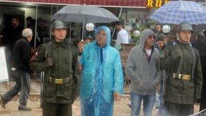 Şehit Burhan Acar'ı binlerce kişi uğurladı