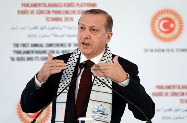 Cumhurbaşkanı Erdoğan: İsrail'i uyardık, ezan tartışmalarını tehlikeli buluyorum