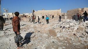 Halep için 10 günlük insani ateşkes tasarısı