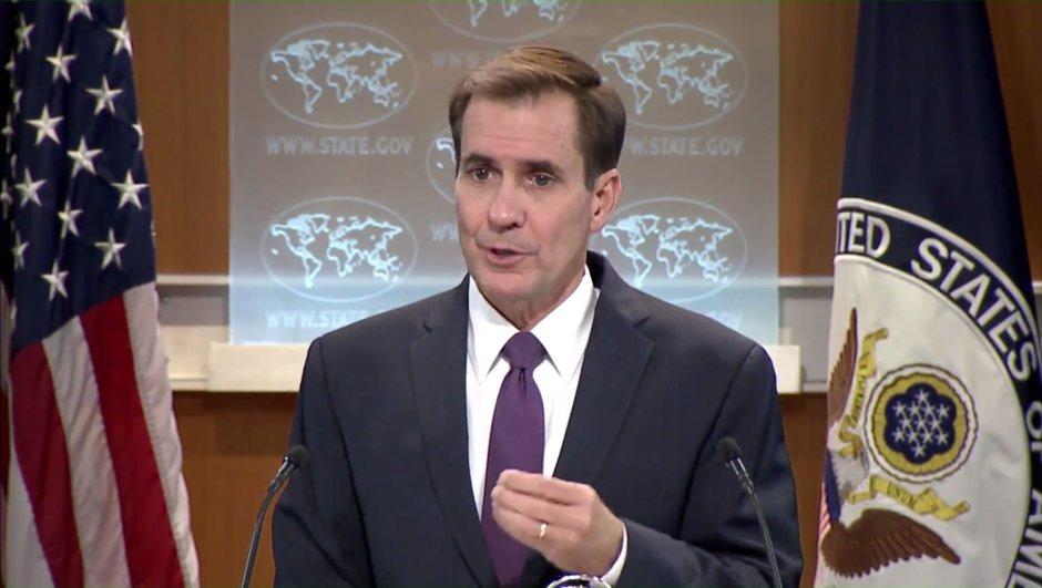 ABD Halep John Kirby