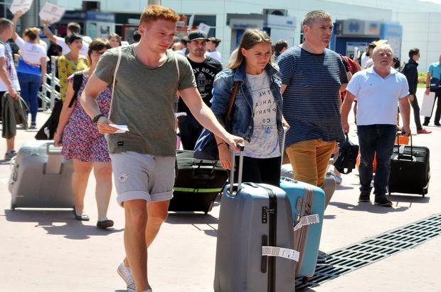 Turist kaybı Rus freni turist