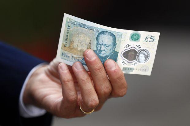 ingiltere 5 sterlin banknot
