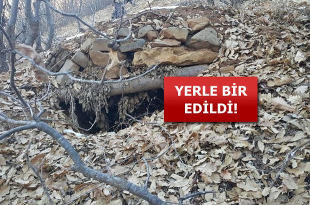PKK sığınak