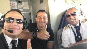 Düşen uçaktan yürek burkan bir hikaye daha!
