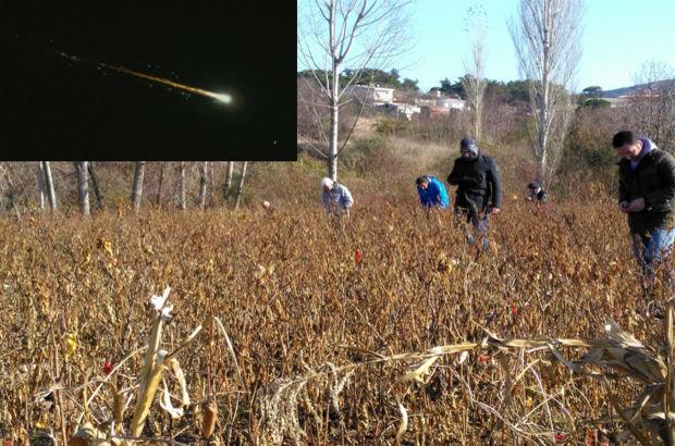 Çanakkale'deki bilim insanları meteor peşinde