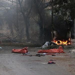 """""""Halep'te sokaklar kan kokuyor"""""""