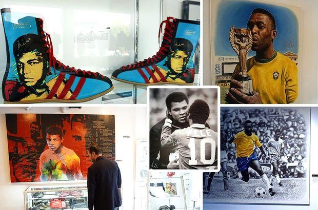 Pele ve Muhammed Ali
