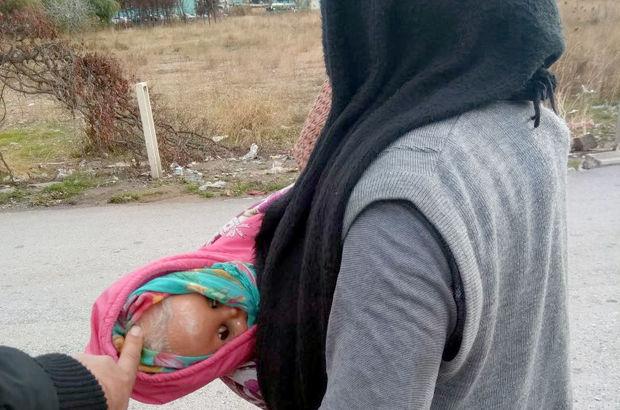 dilenen kadın İzmir oyuncak bebek Bornova