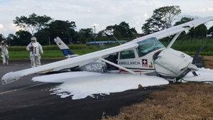 Kolombiya'da kargo uçağı düştü