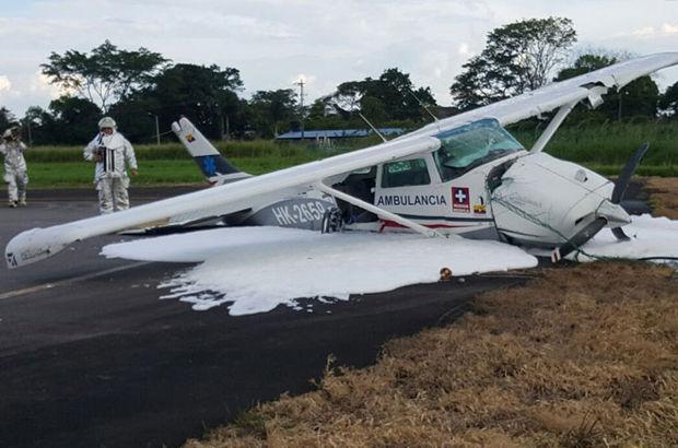 Kolombiya'da bir uçak daha düştü