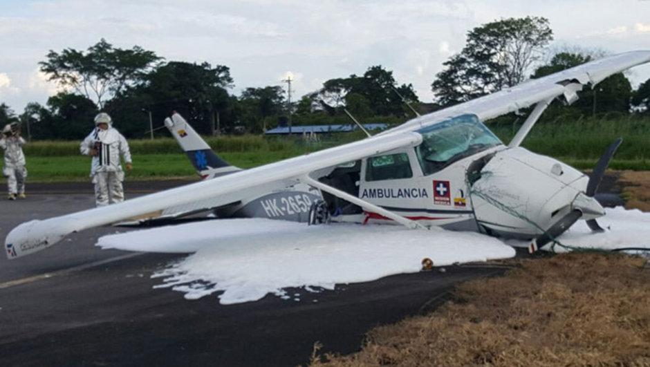 Kolombiya Uçak kazası