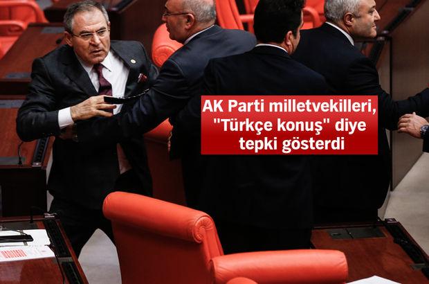 Meclis'te Kürtçe açıklama gerginliği