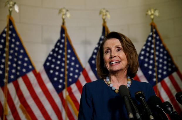 ABD'de Demokratların yeni lideri belli Nancy Pelosi oldu