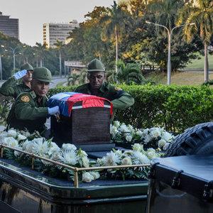 Fidel Castro'nun cenazesi yola çıktı