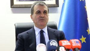 AB Bakanı Ömer Çelik Brüksel'de
