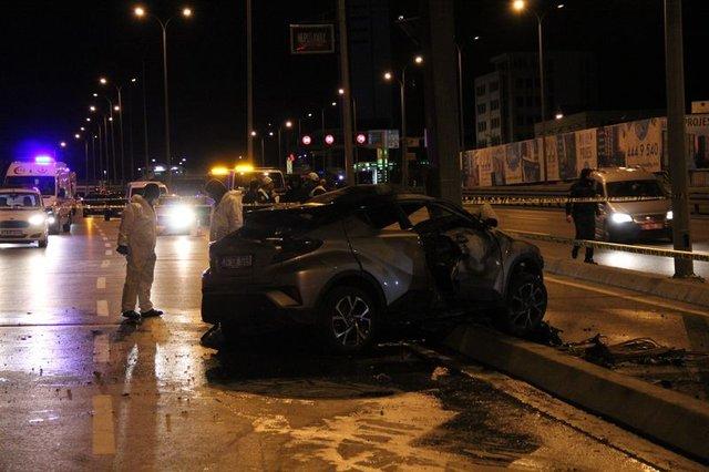 İstanbul Avcılar'da trafik kazası: 2 ölü