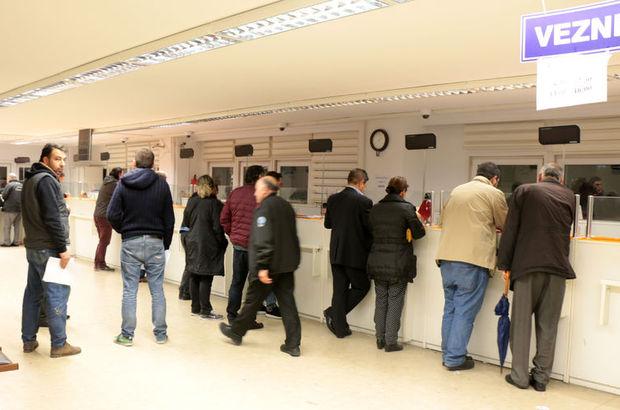 Vergi dairelerinde gece yarısı yoğunluğu!