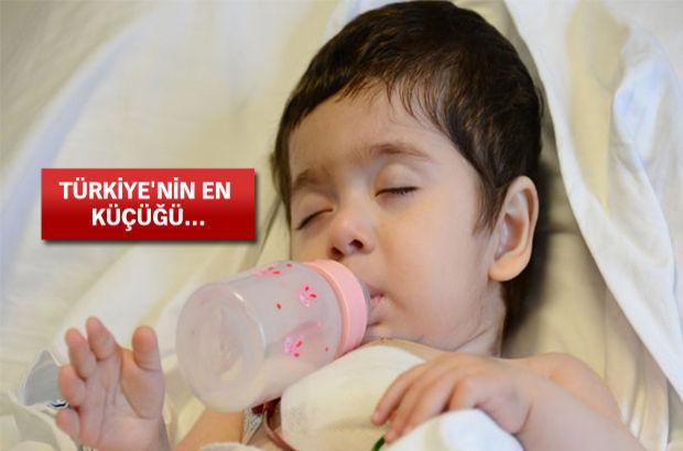10 aylık bebeğe kalp nakli