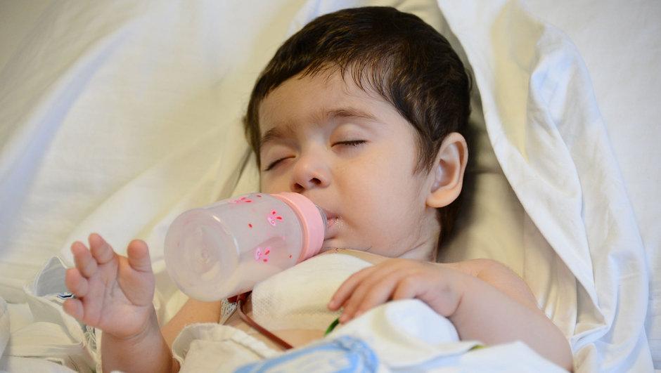 Beytullah bebek kalp nakli