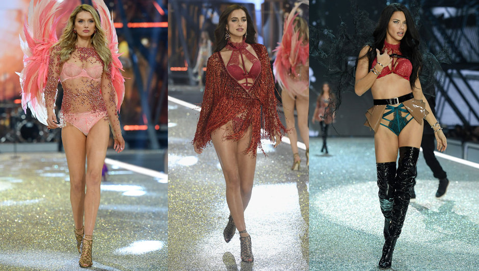 En cesur görüntüleriyle Victoria's Secret Fashion Show!