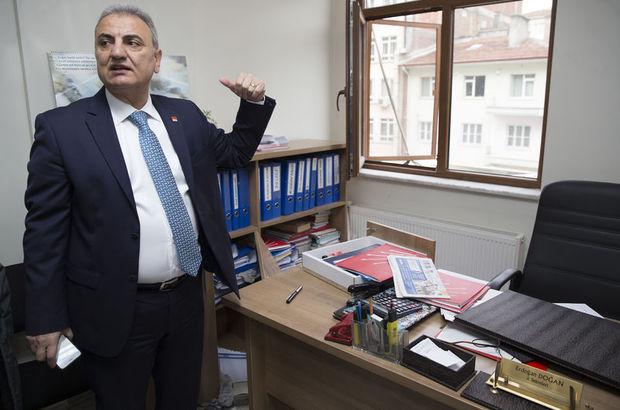 CHP Ankara İl Başkanlığına şüpheli giriş!
