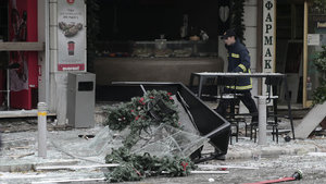 Atina'da patlama! 1 ölü