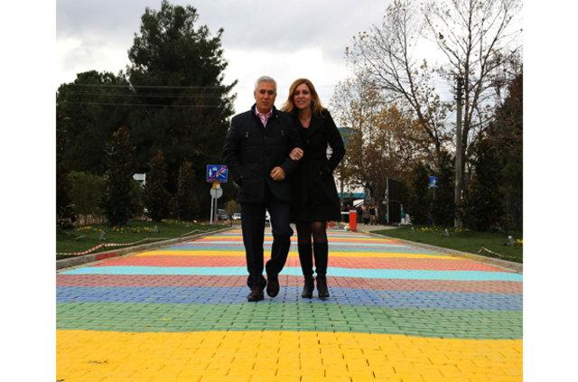 """Bursa'daki """"Sevgi Yolu""""na yoğun ilgi"""