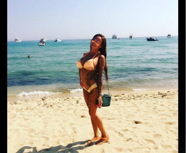 """Gina Lisa Lohfink: """"Türk futbolcuyla aşk yaşıyorum"""""""