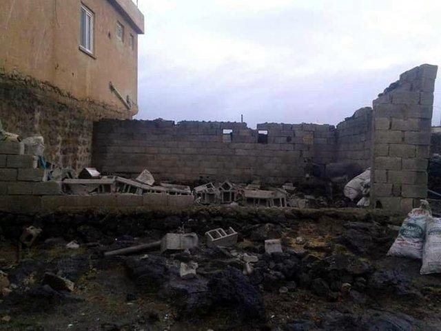 Mardin'de hortum meydana geldi