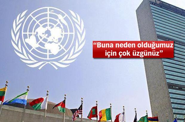 BM Haiti'den özür diledi