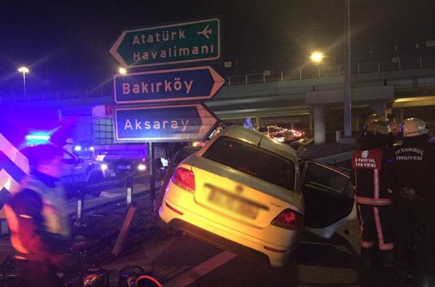 Bahçelievler'de trafik kazası: 2 ölü