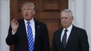 Donald Trump, Savunma Bakanlığı için Mattis'i aday gösterecek