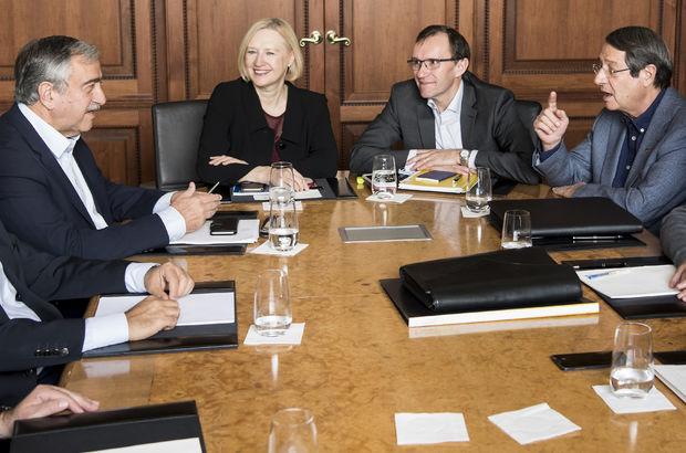 Kıbrıslı liderler müzakerelere devam edecek