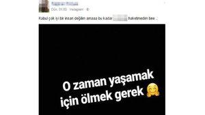 Kayseri'de genç kız intihar etti