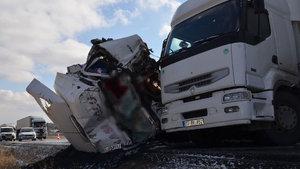 Konya'da trafik kazası meydana geldi
