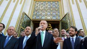 """Erdoğan'dan """"Başkan Erdoğan"""" tezahüratlarına yanıt"""