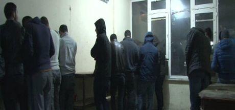 Fatih'te kaçak içki operasyonu: 54 gözaltı