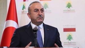 Dışişleri Bakanı Çavuşoğlu Türkmenlerle bir araya geldi