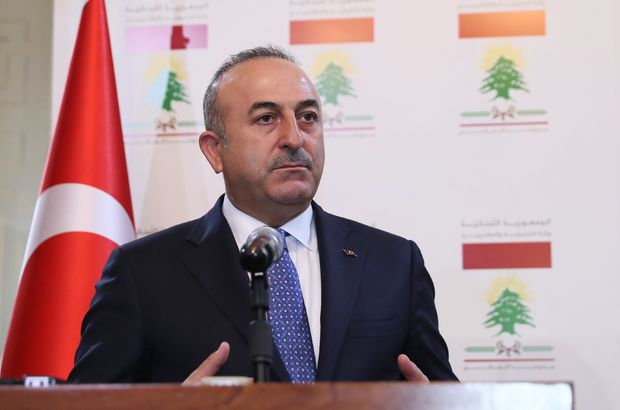 Çavuşoğlu Türkmenlerle bir araya geldi