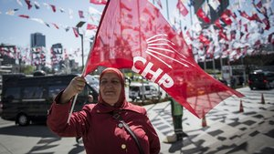 CHP'nin kampanyasında hedef, AK Parti'nin % 5'i