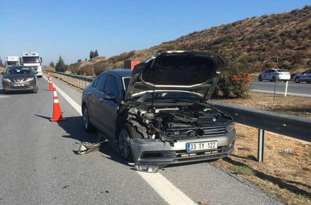 AK Partili vekil kaza yaptı
