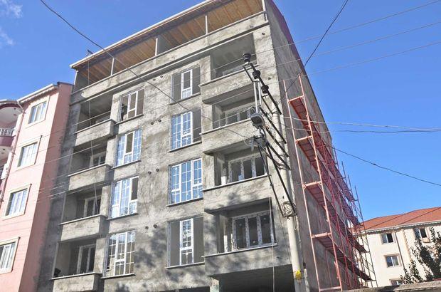 Altıncı kattan düşen inşaat işçisi öldü