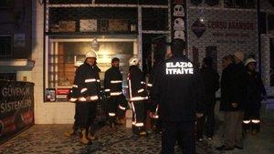 Elazığ'da bir iş yerinde yangın çıktı