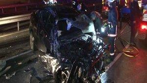 15 Temmuz Şehitler Köprü yolunda 2 ayrı trafik kazası
