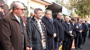 CHP'li Sezgin Tanrıkulu'nun babası toprağa verildi