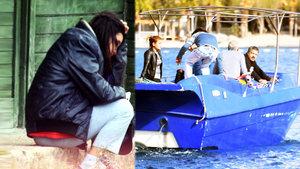 Bodrum'da sığınmacıları taşıyacak tekneyi denerken yakalandılar